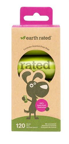 Earth rated poepzakjes lavendel (8×15 st)