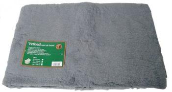 Vetbed grijs (150x100x1 cm)