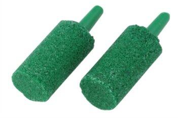 Ebi uitstroomsteen groen (1,5X2,5 CM 2 ST)