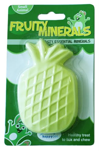 Happy pet fruity mineral ananas (210 ml 11×6,5×2,5 cm)