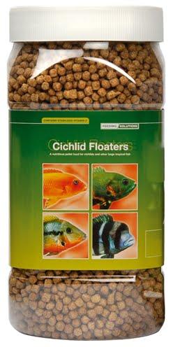 Visvoer cichlid floaters (380 GR 18X8X8 GR)