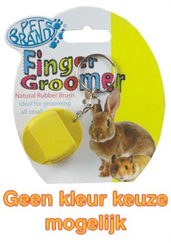 Petbrands small animal finger groomer (3,5X9X2,5 CM)