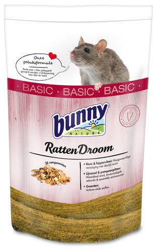 Bunny nature rattendroom basic (500 GR)