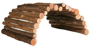Trixie brug van hout (51X30 CM)