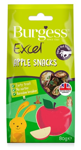 Burgess excel snacks appel (80 GR)