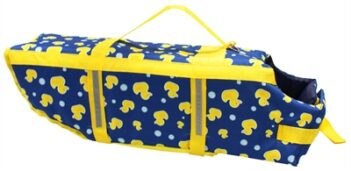 Croci zwemvest moby duck blauw / geel (45 CM)