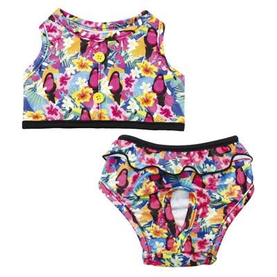 Croci bikini toucan roze (20 CM)