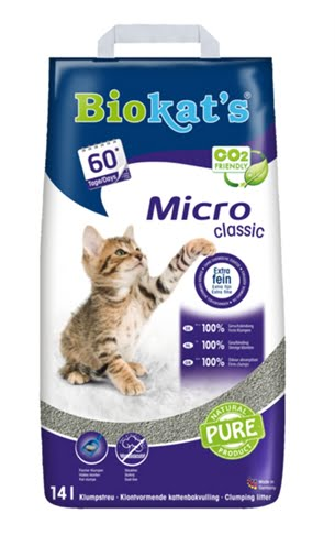 Biokat's kattenbakvulling micro classic (14 LTR)
