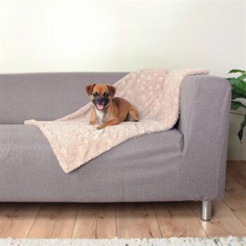 Trixie hondendeken cosy fleece beige (100X70 CM)