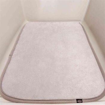 Trixie ligmat hond voor vervoersbox skudo / gulliver grijs (4 56X36 CM)
