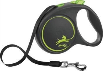Flexi rollijn black design tape groen (L 5 MTR TOT 50 KG)