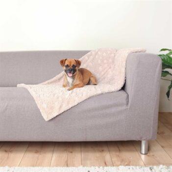 Trixie hondendeken cosy fleece beige (70X50 CM)