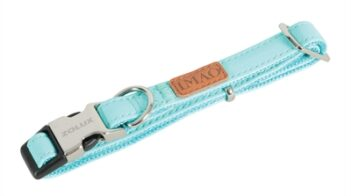 Zolux halsband hond imao piccadilly turquoise (30-51X2 CM)