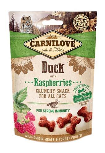 Carnilove crunchy snack eend / framboos (50 GR)