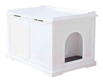Trixie kattenhuis xl wit (75X51X53 CM)