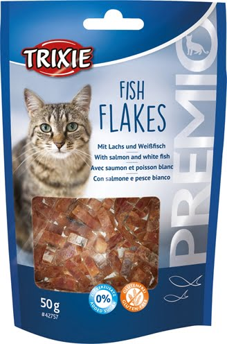 Trixie premio fish flakes (50 GR)