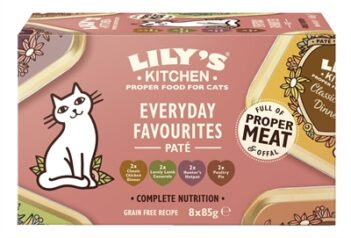 Lily's kitchen cat everyday favourites multipack (8X85 GR)