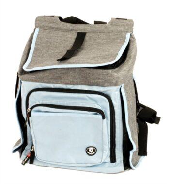 Fofos comfort hondentas grijs / blauw (43X34X25 CM)