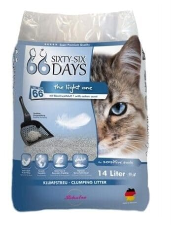 66 days cotton light kattenbakvulling (14 LTR)