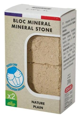 Zolux eden mineraalsteen knaagdier naturel (5X4X3 CM)