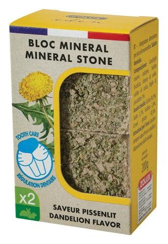 Zolux eden mineraalsteen knaagdier paardenbloem (5X4X3 CM)