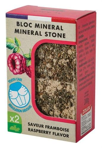 Zolux eden mineraalsteen knaagdier framboos (5X4X3 CM)