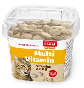 Sanal cat multi vitamin snacks cup (100 GR)